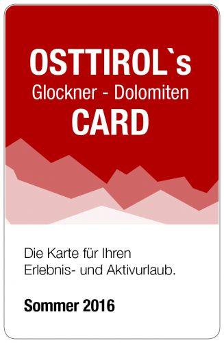 Osttirol´s Glockner - Dolomiten Card